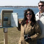 Neruda Box by Julia Pavone and Mark Dixon, at Avery Point, Conn.